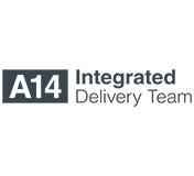A14 Logo White 160 x 176