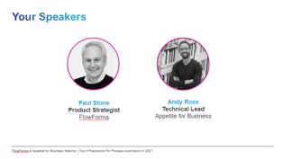 Appetite for business speakers jan 21