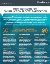 Construction Infographic - Cover