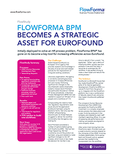FlowForma BPM - Eurofound Case Study