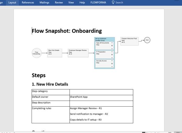 Flow Snapshot (DocGen) Screenshot for blog