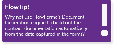 FlowForma BPM - Contracts Management