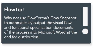 FlowForma BPM - workflow software for Business Analysts
