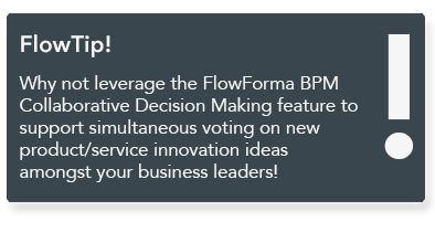 FlowForma BPM - Innovation Process