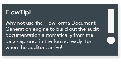 FlowForma - Document generation