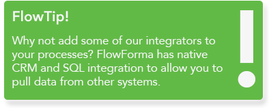 FlowForma BPM - workflow management tool for IT