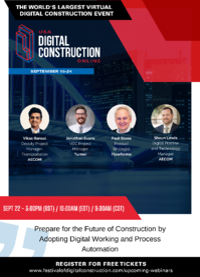 USA Digital Construction Online Event - Speakers