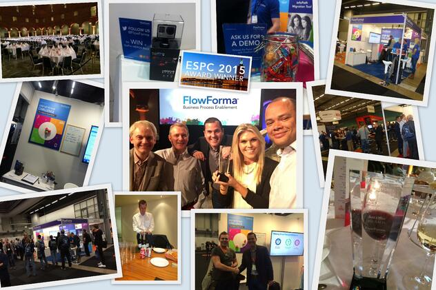FlowForma - Winners of Best Office 365 App as voted by European SharePoint Community ESPC
