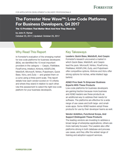 FlowForma Debut in Low Code Wave for Business Developers