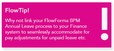 FlowForma - HR business process automation