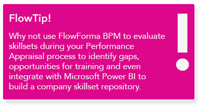 FlowForma - HR process automation tool