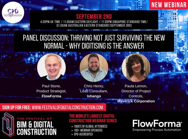 New Flowforma Webinar Banner