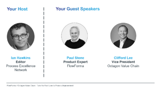 PEX and Octagon Webinar - Speakers