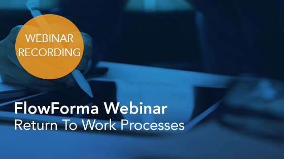 Resources - Return To Work Webinar Recording
