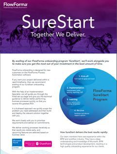 SureStart Brochure