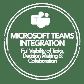 Teams integration icon all white v2