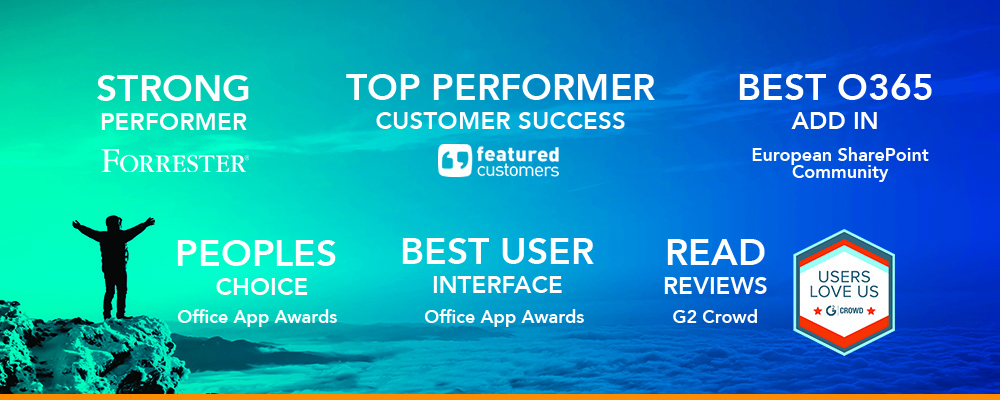 Who We Are - FlowForma Awards for their business process management tool