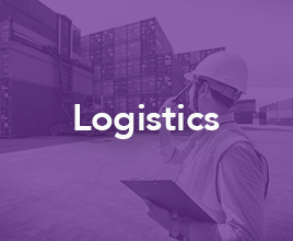 Who We Empower - Logistics Purple HP