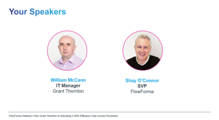 Your Speakers - Grant Thornton Webianr