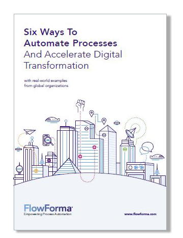 Process automation to accelerate digital transformation