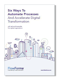 FlowForma eBook - Guide to Digital Transformation - Process automation