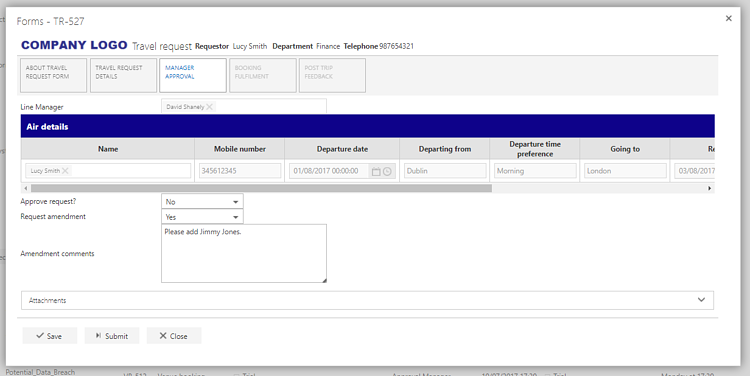 flowforma no code BPM process screenshot 2.png