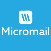 micromail blue background