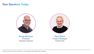 solutions review webinar speakers