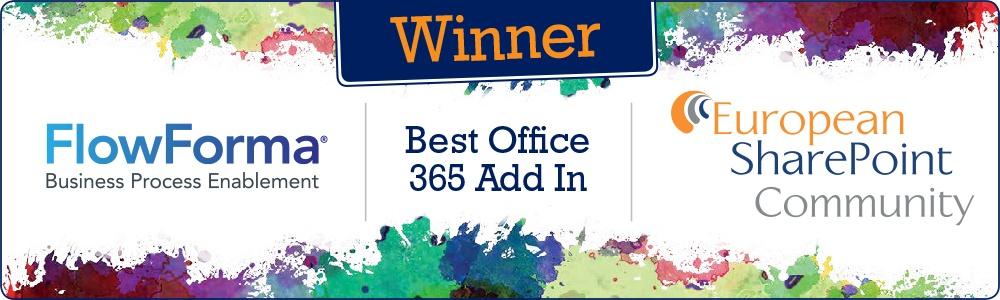 ESPC15 WINNER OF BEST OFFICE 365 ADD IN