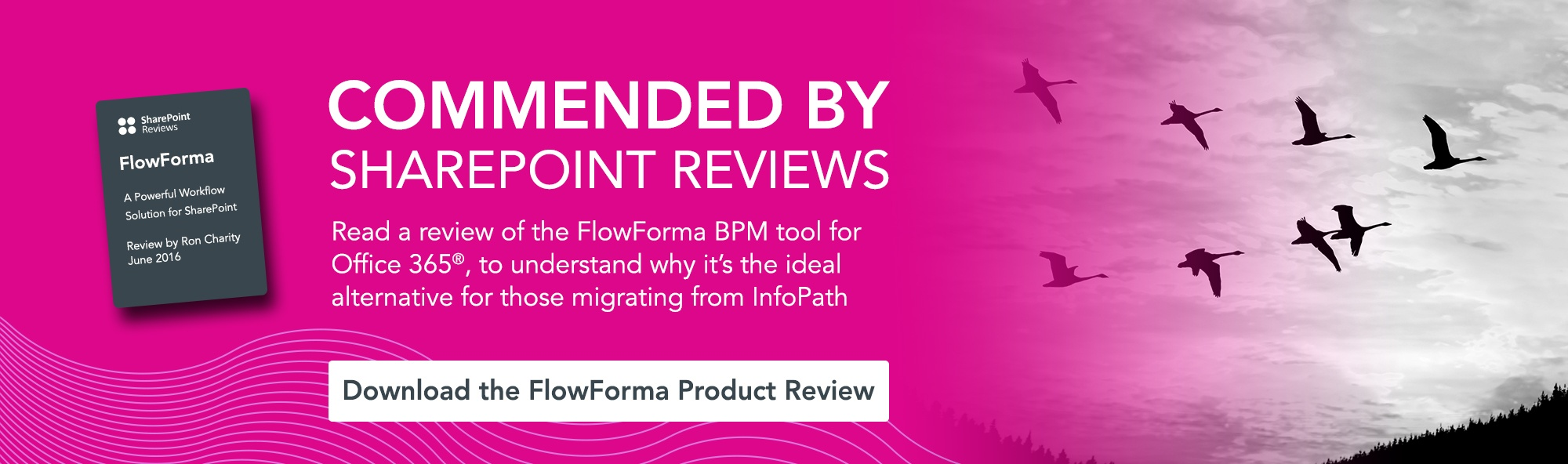 Read a review of FlowForma BPM tool for Office 365 to understand why it's the ideal alternative for those migrating from InfoPath