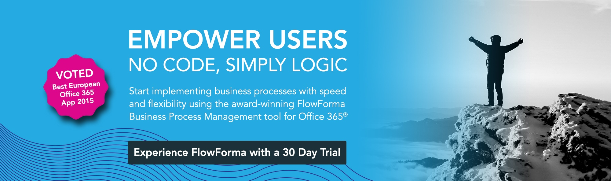 Start implementing your business processes with speed and flexibility using the award winning FlowForma business process management tool for office 365