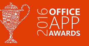 FlowForma Scoop Office App Award 2016 at Microsoft Ignite