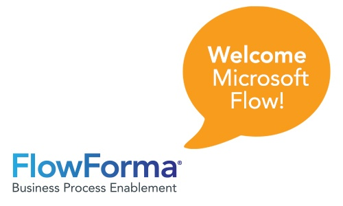 A Big Welcome to Microsoft Flow from FlowForma