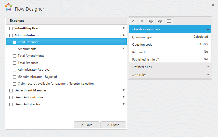 FlowForma BPM for Office 365 Flow Designer